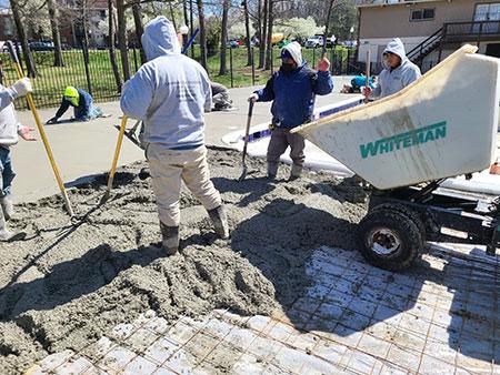 Lanham Construction Workers